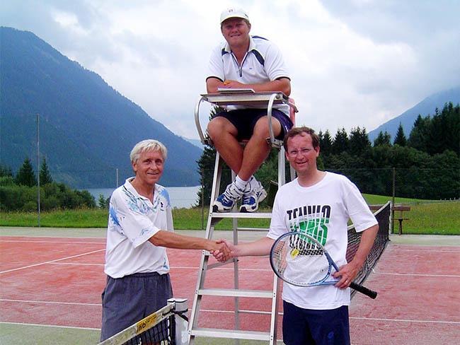 Tennis am Sonnenhof - Raderhof am Weissensee in Kärnten