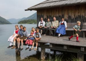 Familie Domenig vom Sonnenhof - Raderhof am Weissensee